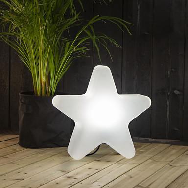 Outdoor Leuchte Gardenlight Stern E27 mit Erdspiess