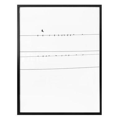 Poster Stromleitung