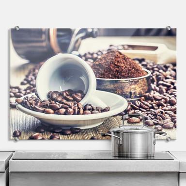Spritzschutz Kaffeeträume