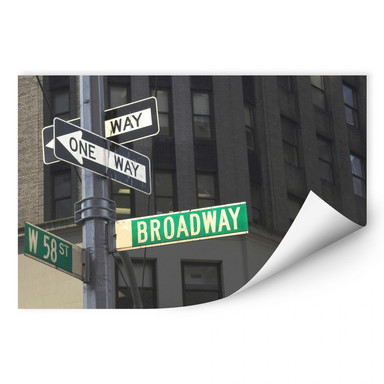 Wallprint Broadway