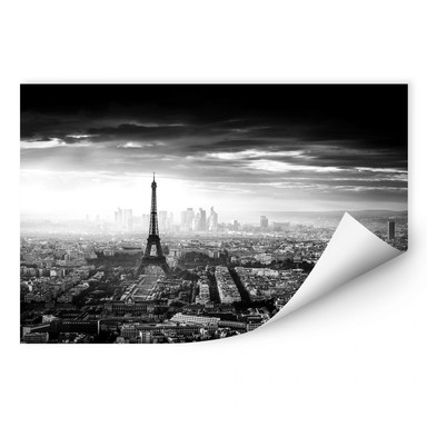 Wallprint Marx - Paris im Nebel