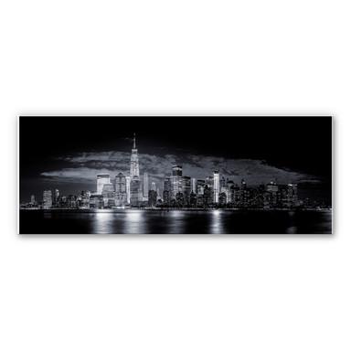 Wandbild Carvalho - Skyline at Night - Panorama