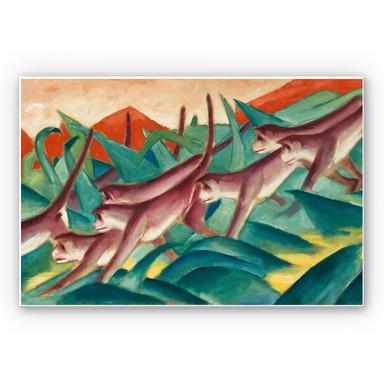 Wandbild Marc - Affenfries