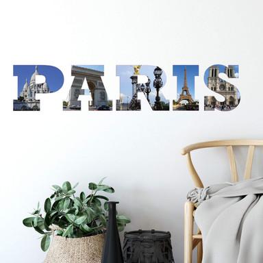 Wandsticker Impressionen Paris