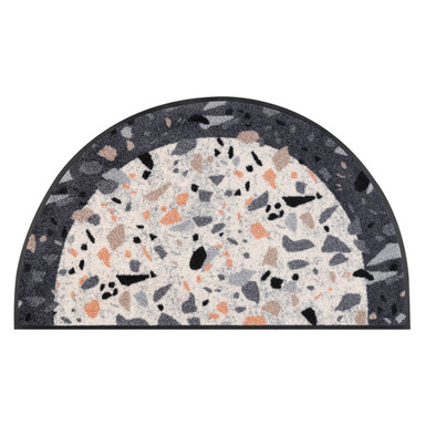 Wash&Dry Fussmatte Round Terrazzo 50x85cm
