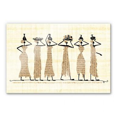 Acrylglasbild Ägyptische Frauen