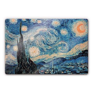 Glasbild van Gogh - Sternennacht 1889