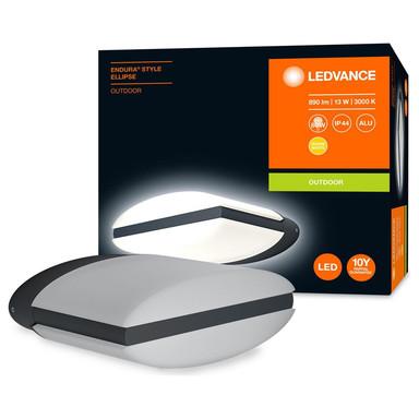 LED Wandleuchte Endura in Dunkelgrau und Weiss 12.5W 890lm IP44