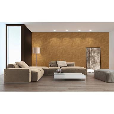 Livingwalls Tapete Titanium braun, metallic