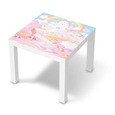 Möbelfolie IKEA Lack Tisch 55x55cm - Candyland