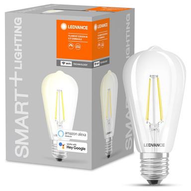 SMART& Wlan LED Leuchtmittel ST64 5.5W 806lm warmweiss klar