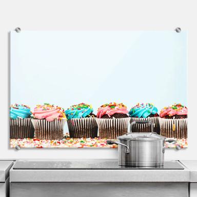 Spritzschutz Party Cupcakes