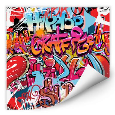 Wallprint Graffiti Hip Hop