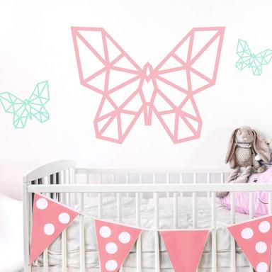 Wandtattoo Origami Schmetterling