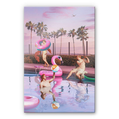 Acrylglasbild Loose - Pool Party