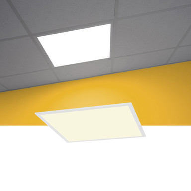 Einbauleuchte I-Vidual LED Panel in weiss, 625x625 mm Raster, 4000K