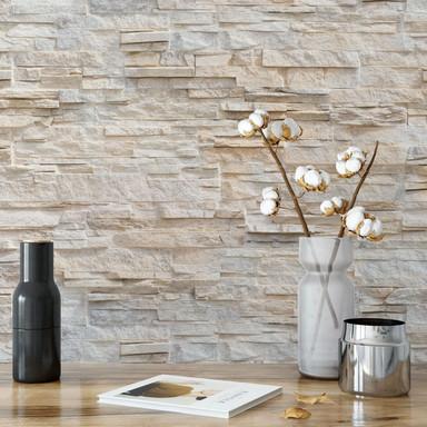 Fototapete Natursteinmauer