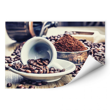 Wallprint Kaffeeträume