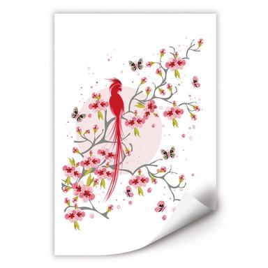 Wallprint Paradiesvogel