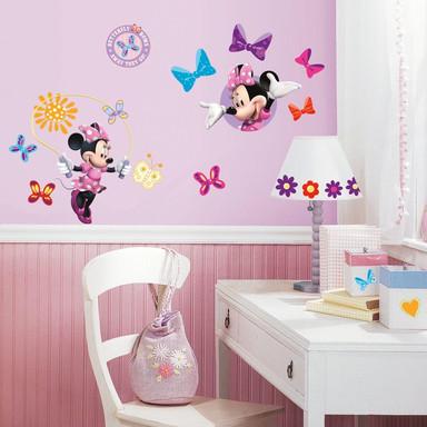 Wandsticker Disney Minnie Mouse - Bow-tique - 33tlg.  - Bild 1