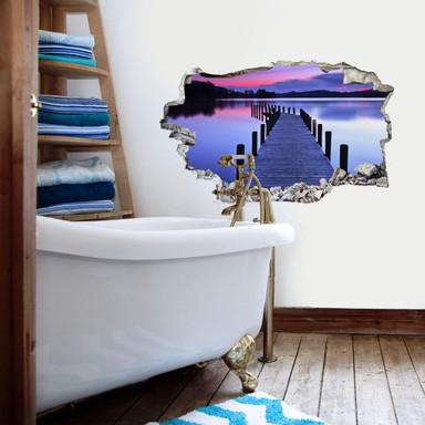 3D Wandtattoo Seepanorama