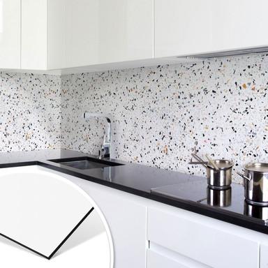 Küchenrückwand - Alu-Dibond - Terrazzo
