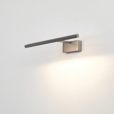 LED Aufbaubilderleuchte Mondrian in Nickel-Matt 6.9W 161lm 400mm