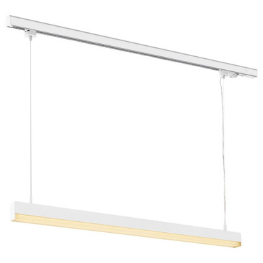 LED Pendelleuchte 3-Phasen Schniensystem Sight Track in Weiss 40W 3100lm