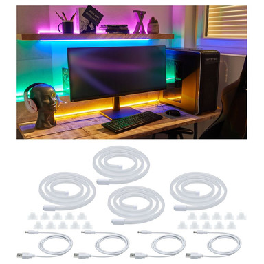 LED Strip Neon Colorflex in Weiss 5W 10lm