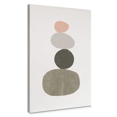 Leinwandbild Nouveauprints - Pebbles 1