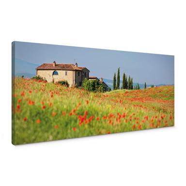 Leinwandbild Toskana Panorama 1