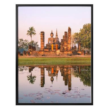 Poster Colombo - Buddhistischer Tempel Sukhothai