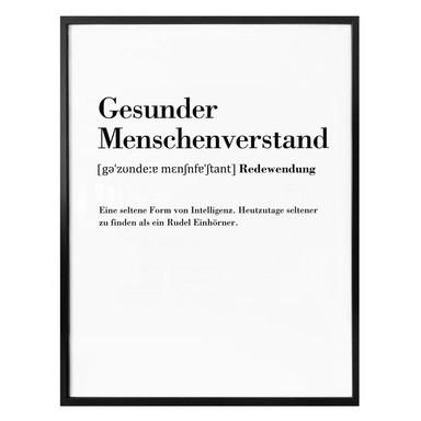 Poster Grammatik - Gesunder Menschenverstand
