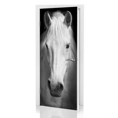 Türdeko White Horse - Bild 1