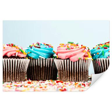Wallprint Party Cupcakes