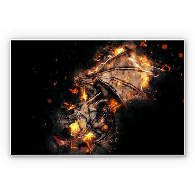 Wandbild Fireflight