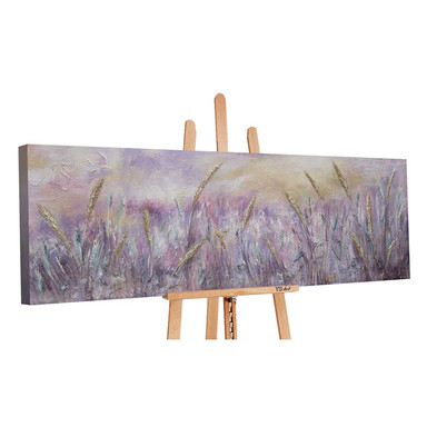 Acryl Gemälde handgemalt Morgentau 150x50cm - Bild 1