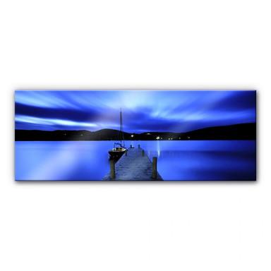 Acrylglasbild Silent Lake - Panorama