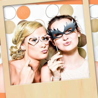 Holzdeko Pappel - XXL Fotorahmen Polaroid