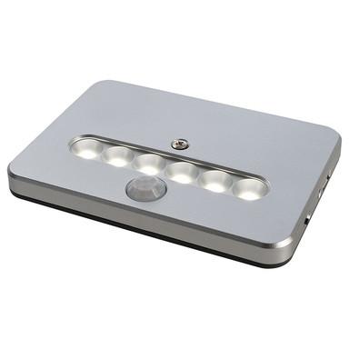 LED Möbelaufbauleuchte Luckylite Pro in Silber-Matt