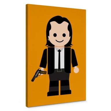Leinwandbild Gomes - Pulp Fiction Spielzeug Vincent Vega