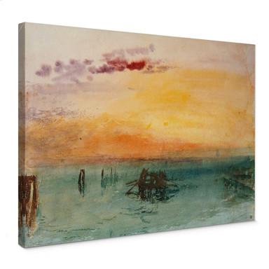 Leinwandbild Turner - Venedig von Fusina aus gesehen