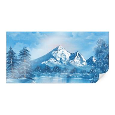 Poster Toetzke - Alpsee in den Bergen - Panorama