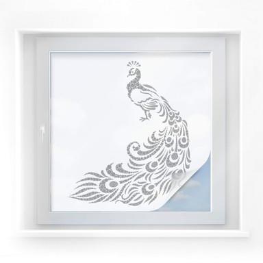 Sichtschutzfolie Abstract Peacock