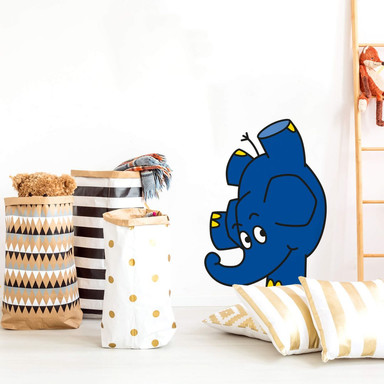 Wandsticker Elefant 13