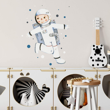 Wandtattoo Loske - Astronaut