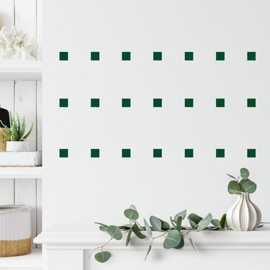 Wandtattoo Quadrate Set (50-teilig)
