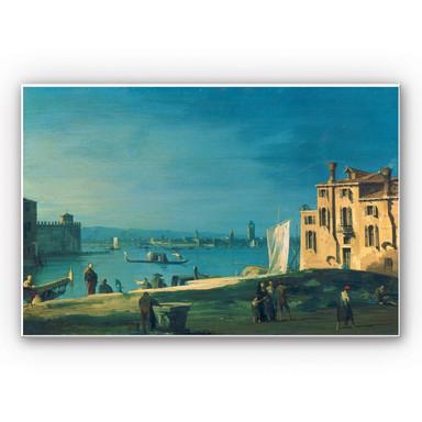 Hartschaumbild Canaletto - Die Insel Murano