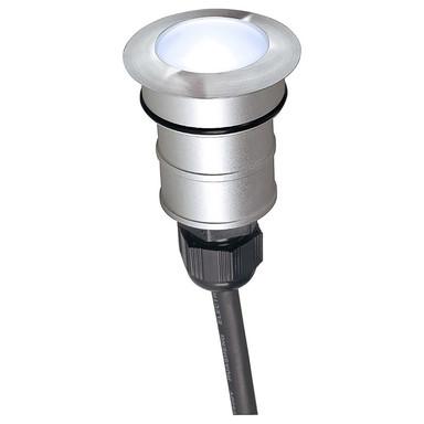 LED Bodeneinbaustrahler Power Trail-Lite in Silber 1.4W 48lm IP67