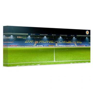 Leinwandbild Eintracht Braunschweig Tribüne Panorama